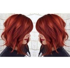 hair, red, and girl image