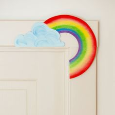 Rainbow Door Corner #novanatural
