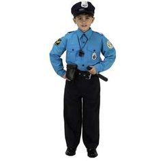 Police Kid Costume