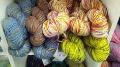 Kells sock yarns, 85% superwash merino, 15% tweed, 438 yds