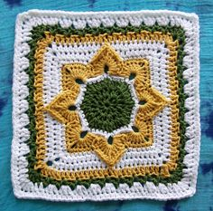Ravelry: Project Gallery for Eight Pointed Flower pattern by Julie Yeager