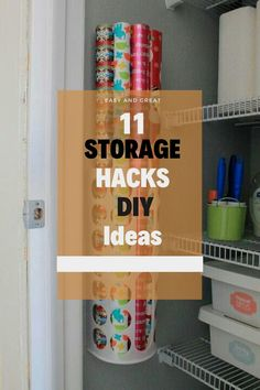 These storage hacks are so simple that you have probably never thought about them before. #storagahacks #organizationhacks Storage Hacks, Diy Storage, Organization Hacks, Storage Ideas, Hacks Diy, Cool Stuff, Simple, Easy, Room