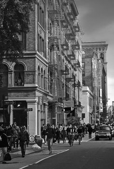 Soho in the past
