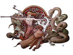 Dmitrij Ilyutkin | The battle with the monster