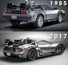 For a long time now people have been fascinated by what incredible cars can be discovered in motor shows across the world. The vehicles that are making peo Custom Muscle Cars, Custom Cars, Futuristic Cars, Sweet Cars, Ford Gt, 2017 Ford Mustang, Modified Cars, Back To The Future, Amazing Cars