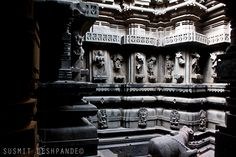 The Bhuleshwar temple stands out due to its beautiful sculptures and architecture, which restore its position among the Yadava monuments of the Deccan.