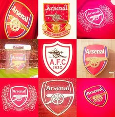 Arsenal badges