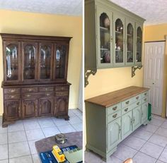 """Housekeeping 101 on Instagram: """"#ci"""" Repurposed China Cabinet, China Cabinet Redo, Painted China Cabinets, China Cabinets And Hutches, China Cabinet Makeovers, Farmhouse China Cabinet, China Hutch Decor, Wall Curio Cabinet, Vintage China Cabinets"""