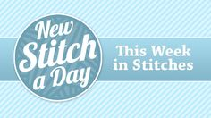 New Stitch a Day- great website!