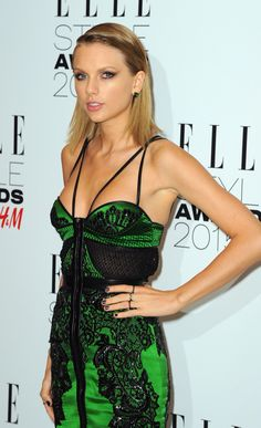 Taylor Swift attending the Elle Style awards 2015