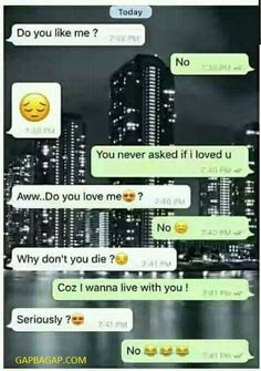 Hilarious Text Message About Love