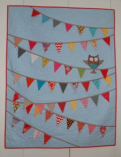 O is for Owl Quilt Pattern in a PDF for Digital von Pipersgirls