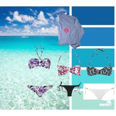"""beach is my life"" by sarah-oetken on Polyvore"