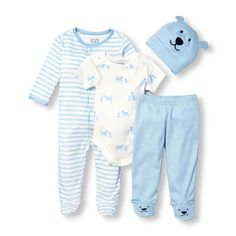 Baby's ready to go home in this cute set. Big Fashion, Little Prices