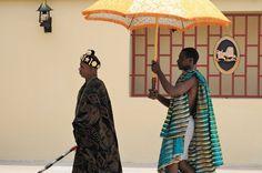 Roi abron- traditions de Côte d'Ivoire