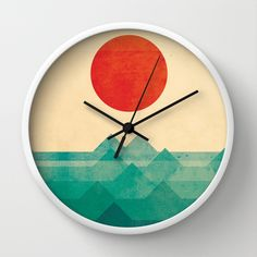 The ocean, the sea, the wave by Budi Satria Kwan as a high quality Wall Clock. Free Worldwide Shipping available at Society6.com from 11/26/14 thru 12/14/14. Just one of millions of products available.