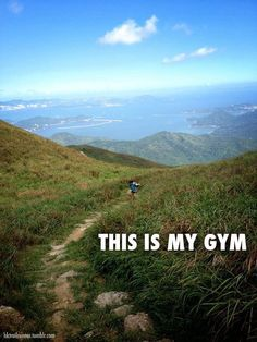 Who needs to sweat with strangers when you can sweat all by yourself in the fresh air?