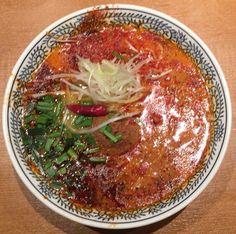麻辣担々麺/丸源ラーメン