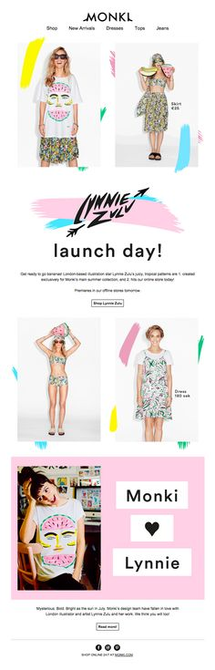 Monki Email Marketing Design, Email Design, Ad Design, Layout Design, Branding Design, Website Design Inspiration, Web Design Inspiration, Editorial Design, Editorial Fashion