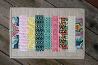 Fat Quarter Gang - Mod Stack Placemat by Fresh Lemons Quilts - Art Gallery Fabrics - The Creative Blog