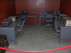 Kommunikationsrum i presidentpalatset.