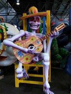 Visiting Mardi Gras World