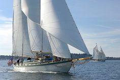 Stays'l schooner Martha. Port Townsend, WA. http://www.schoonermartha.org/