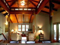 Open, spacious living area
