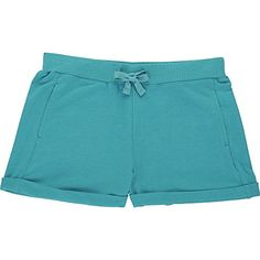 French Toast Little Girls' Roll Cuff Short, Drift Turquoise Heather, 5 Cotton blend French terry Rolled up cuff tacked down at sides Encased elastic waistband Functional pockets French Toast Rolls, Girls Dress Up, Toddler Girls, French Terry, Playground, Lounge Wear, Casual Shorts, Active Wear, Short Dresses