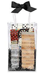 Drinking Tower Game Ice Bag Gift Set