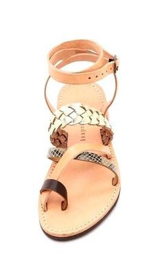 Urban Outfitters, Isapera Lemonia Strappy Sandal, Leather Size 8 NWOB Orig $155. #Isapera #Strappy