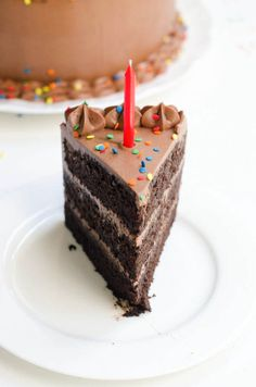 Chocolate Birthday Cake: Devil's Food Cake with Rich Chocolate Buttercream Frosting | The Cake Merchant