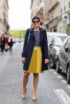 Elisa Nalin #streetstyle #paris