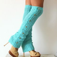 Dance Till Dawn Crochet Leg Warmers by Sarina Cherea