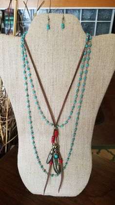 Mix & Match Necklaces. Suede Necklace. $14.99 Mix & Match with any one of our Beaded Necklace & Earrings Sets $12.99