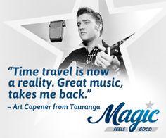 Magic – Feels Good   NZ's Newest Radio Station