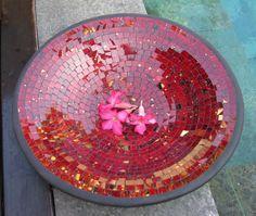 Pink #Mosaic #Bowl