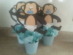 changuitos (centro de mesa baby shower) - YouTube