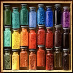 Embossing powder?  Whatever it is, it is preatty! #color