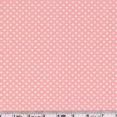 Shop | Category: Basics, Dots, Stripes & More | Product: Basic Dots - Cotton Candy Pink