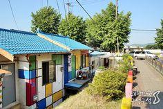 삶이 예술이 되는 곳, 짙은 색채가 이색적인 대전 중촌동 거리 미술관   (사진_트래블리더7기 윤상협)