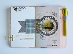 Traveler´s spread by vania at @studio_calico