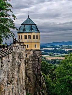 Festung Königstein, Sachsen Germany
