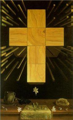 i love Dali, his work is timeless. Salvador Dali (1904 - 1989) | Surrealism | Arithmosophic Cross - 1952