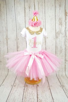 baby 1e verjaardag tutu outfit meisjes eerste verjaardag