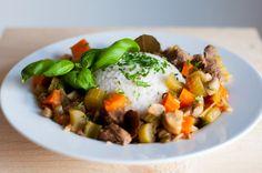 Three girls one kitchen: Wat eten we vandaag: Italiaanse runderstoofpot met groenten en rijst