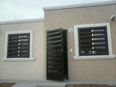 front Window Grill Design Modern, Balcony Grill Design, Grill Door Design, Door Gate Design, Window Design, Modern House Design, Burglar Bars, Window Bars, Carport Designs