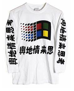Agora Vintage Windows Shirt
