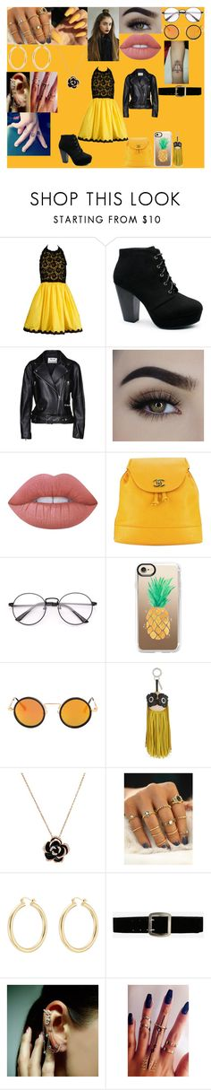 """""""Rejected Rainbow 12"""" by explorer-15016005513 ❤ liked on Polyvore featuring Bill Blass, Acne Studios, Lime Crime, Chanel, Casetify, Fendi, Isabel Marant, Express, Mike Saatji and ASAP"""