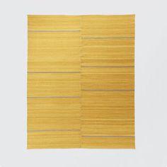 Steven Alan Esma Wool Rug, 9'x12', Platinum/Gold